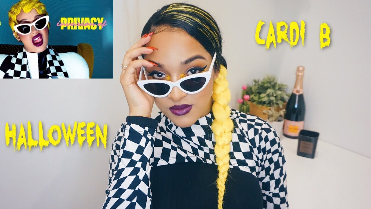 Cardi B Invasion Of Privacy Costume Easy Youtube