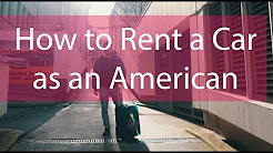 How to rent a car as an American in Germany