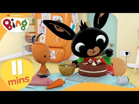 Cake + More | Bing Stories Compilation | Cartoons For Kids | Bing Bunny