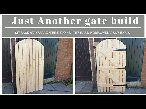 How to build a wooden gate (just another gate build)