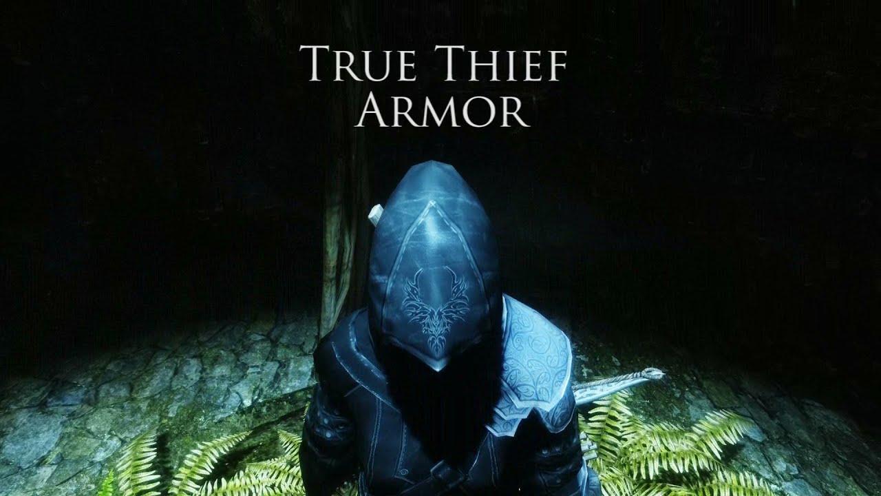 skyrim mod true thief armor youtube