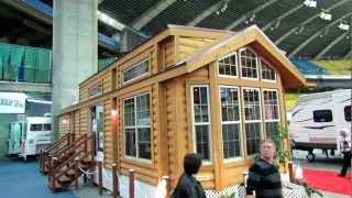 2012 Roulotte Caravan de Parc Woodland 3812 at 2012 Salon du VR Vehicules Recreatifs de Montreal