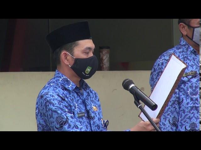 UPACARA HUT RI KE 75 DI BADAN PENGHUBUNG PROVINSI RIAU DI JAKARTA