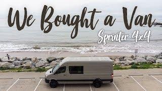 We Bought A Van! :: Sprinter Crew Van 170 4x4