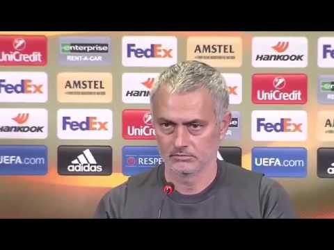 Jose Mourinho & Daley Blind's Pre-Match Press Conference - Manchester United vs FC Rostov