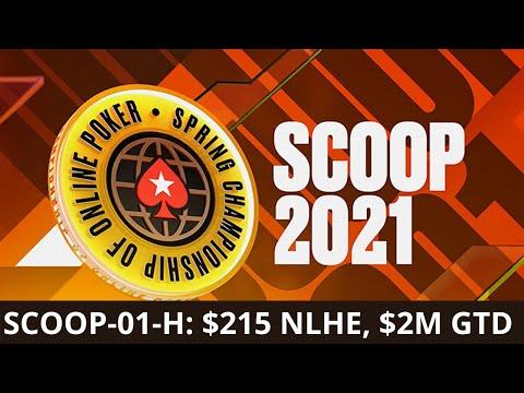 SCOOP 2021 #01-H $215 NLHE, $2M Gtd - Final Table Replay