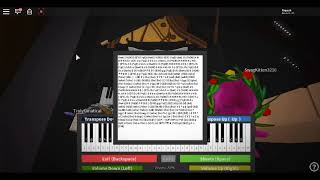 Roblox Piano| Sia - The Greatest| Full| (Notes In Description)