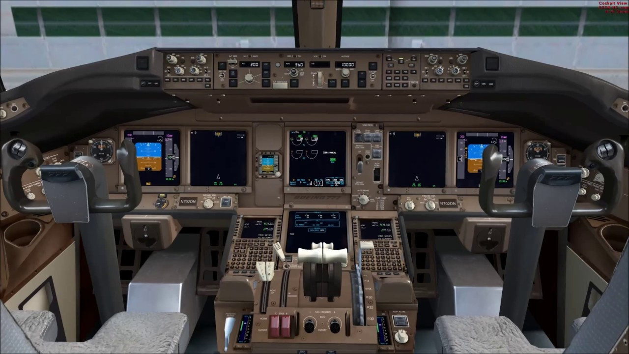PMDG 777: How to update the Navigation Database
