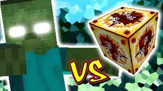 ZUMBI TITAN VS. LUCKY BLOCK INCA (MINECRAFT LUCKY BLOCK CHALLENGE TITAN)