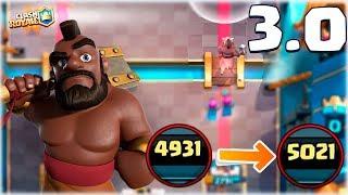 ¡¡ MAZO RAPIDO PARA SUBIR A 5000 COPAS CON MONTAPUERCO !! - Clash Royale [WithZack] thumbnail