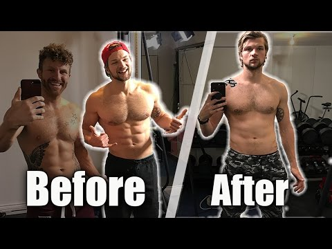Losing muscle from injury & gaining it back! #40