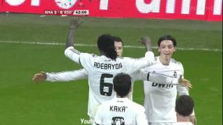 Real Madrid Vs Real Sociedad [ 4-1 ] 6.2.2011 Canal Sport HD
