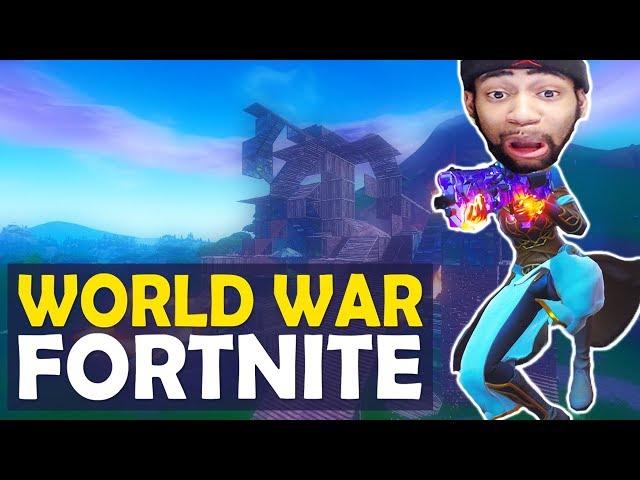 WORLD WAR FORTNITE | HIGH KILL FUNNY GAME- (Fortnite Battle Royale)