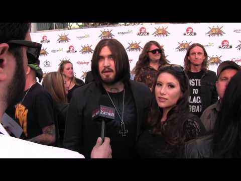 Weston Cage at REVOLVER GOLDEN GODS 2014 | Metal Injection
