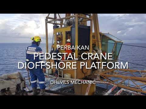 Perbaikan Pedestal Crane Di Offshore Platform