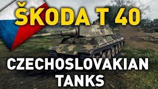 World of Tanks || Skoda T 40 - Tank Review