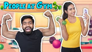 Types of People at the Gym | Guddu Bhaiya