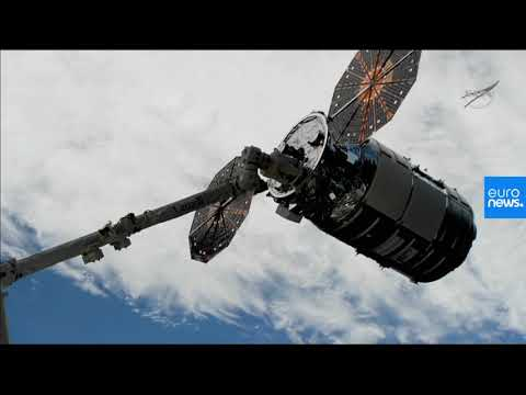 Live   Coverage of the Rendezvous and Capture of the Northrop Grumman NG-12 Cygnus Cargo Craft