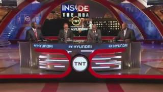 Inside The Nba- Crew Makes Fun of lebron James Hairline