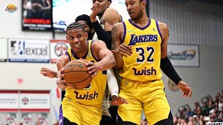 Scott Machado erupts for a career-high 40 points | South Bay Lakers
