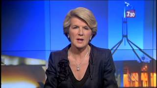 Julie Bishop reflects on politics and accusations