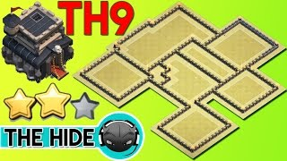 Th9 War Base 2017 Anti Lavaloon With Replay Anti Everything Anti 3 Star (Town Hall 9)-Clash Of Clans