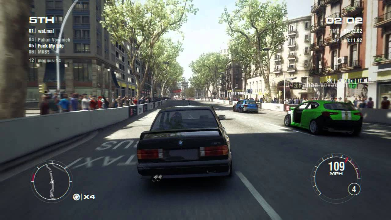 Grid 2 Pc Multiplayer Race Gameplay Tier 1 Upgraded Bmw