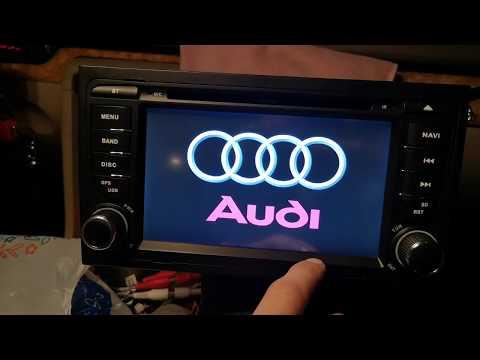 Штатная магнитола Audi A4 B6/B7