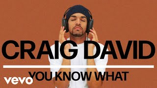 Craig David - You Know What (Official Audio) Video