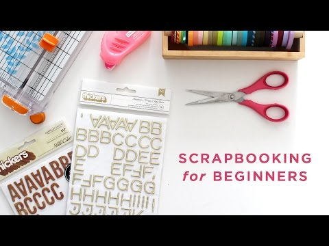 How To Scrapbook (Intro with guest, Melanie Ham)