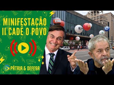 Minifestação, Balões e Faixas Enchem A Paulista