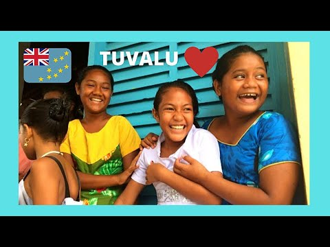 TUVALU, the beautiful faces of its wonderful PEOPLE (Pacific Ocean)
