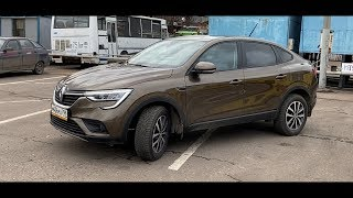 Renault Arkana - Shine and poverty of the national X6