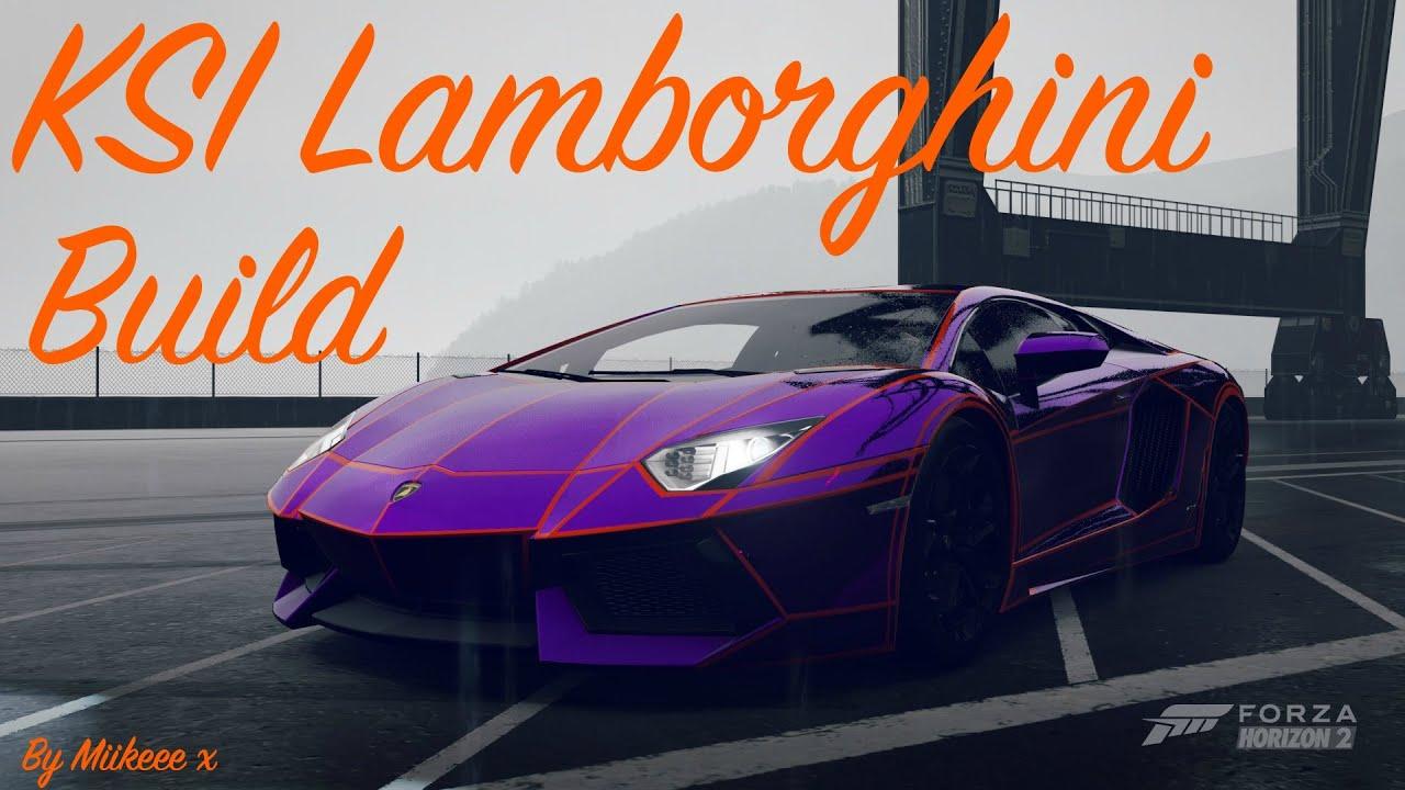 Ksi Lamborghini Wrap Forza Horizon 2 Miikeee X Youtube