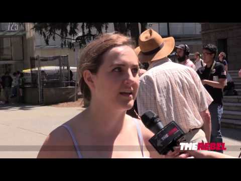 Lauren Southern clashes with feminists at SlutWalk from YouTube · Duration:  6 minutes 10 seconds