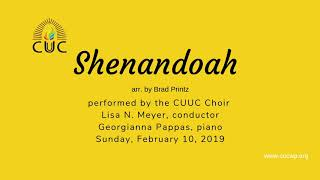 Shenandoah by the CUUC Choir