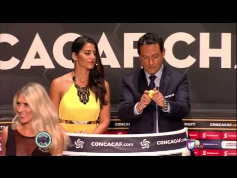 Edecanes sorteo Concacaf Champions League