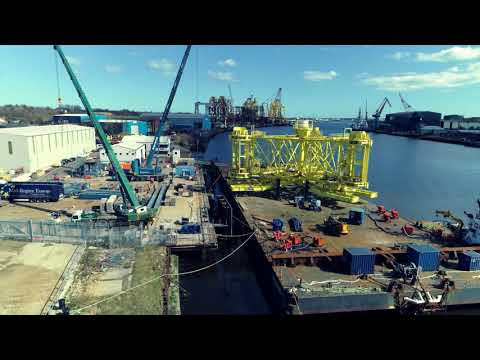 Close Engineering shipping Van Oord's new Piling Template