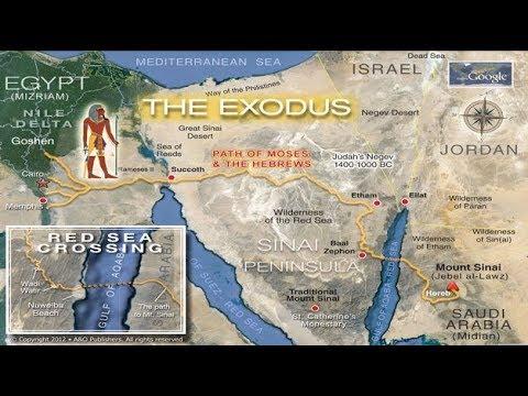 Evidencia Del Exodo, Monte Sinaí En Arabia