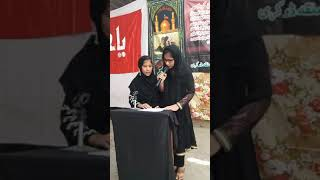 [Hussain Day 1440 Hijra ] Hussain Day at Masomin Public School badah- Report