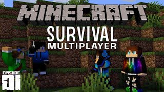 TEAMWORK IS KEY! // Minecraft Survival Multiplayer (Ep. 1)
