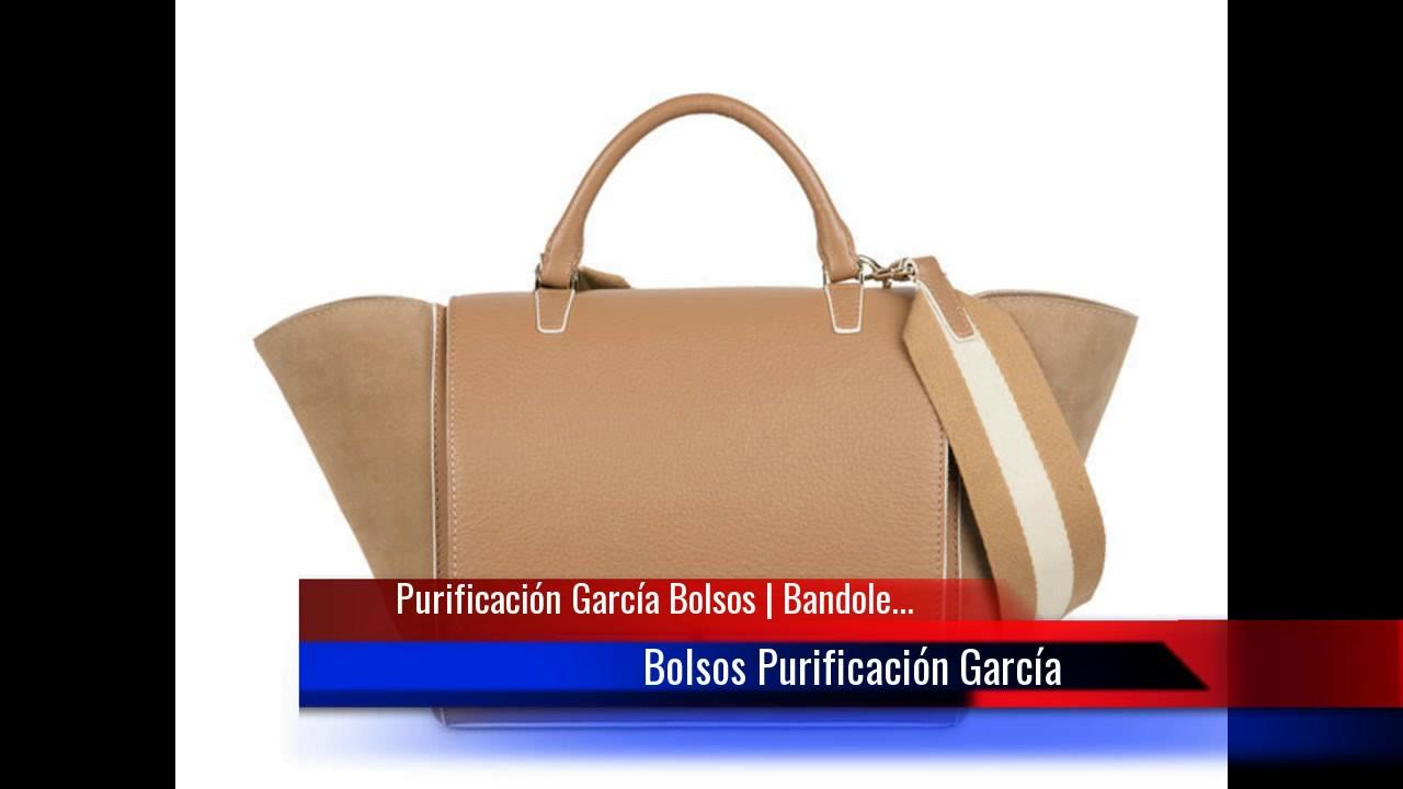 zapatos de separación c2ddb e787b Purificación García Bolsos | Bandolera, de hombro, de mano y carteras