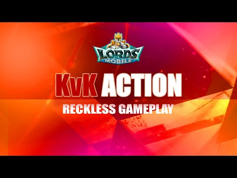 Lords Mobile  - KvK Action (Kingdoms 393 Vs 371 & 379)