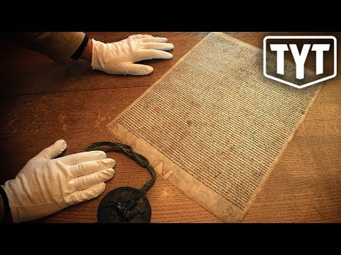 Man Tries To Steal Magna Carta