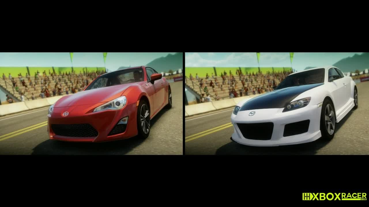 Forza Horizon Rrhc Scion Fr S Vs Mazda Rx8