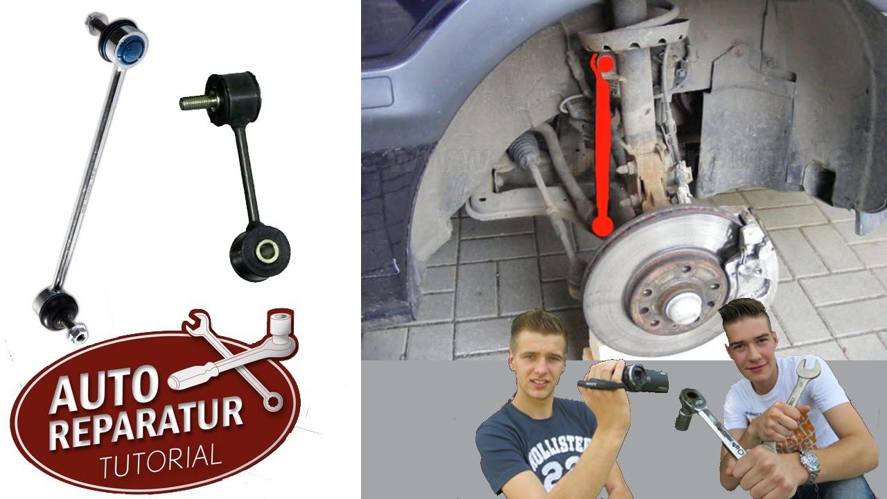 Koppelstange Wechseln Stabis Erneuern Fr Jedes Fahrzeug Diy Evaporator Hyundai Trajet Balakanhg Tutorial Youtube