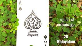 #gulanmalayalam #28malayalam How to play gulan / How to play 28 card malayalam  basics ഗുലാൻ മലയാളം screenshot 3