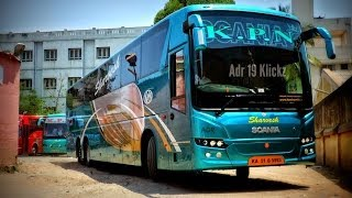 Download Video KPN Scania HD Metrolink 14.5M Multiaxle A/C SemisleeperBus/Bangalore - Madurai/India MP3 3GP MP4