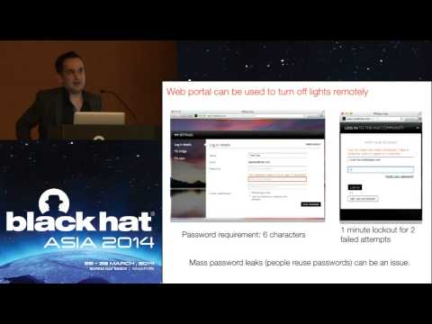 Abusing the Internet of Things: Blackouts, Freakouts, and Stakeouts by Nitesh Dhanjani