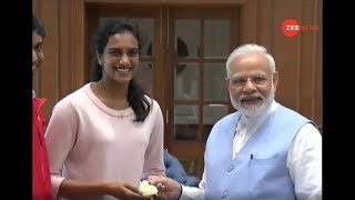 Watch Zee News exclusive conversation with Badminton World Champion P. V. Sindhu